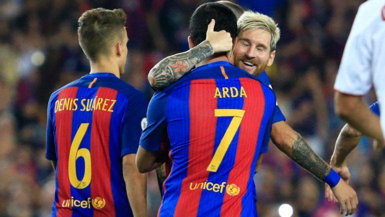 Con un gol de Messi, Barcelona se quedó con la Supercopa
