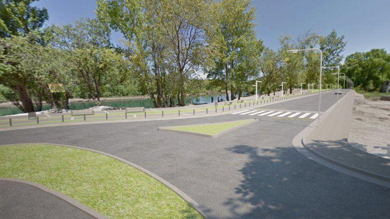 Así quedará el nuevo tramo del Paseo Costero.