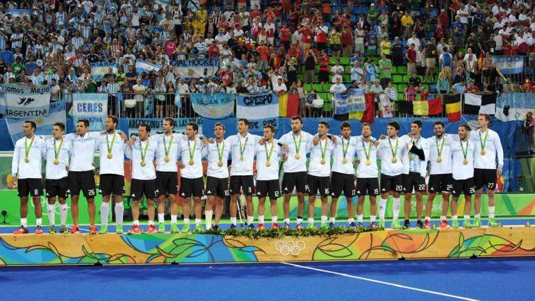 Los Leones le ganaron 4 a 2 a Bélgica en un partido durísimo y ganaron la medalla de oro