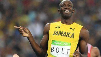 Bolt reveló en qué equipo de fútbol jugará a mitad de año
