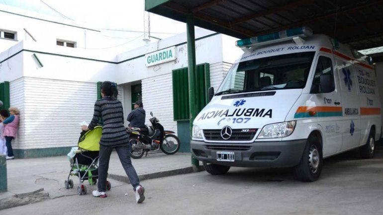 Momentos de tensión se vivieron ayer en el hospital Bouquet Roldán.