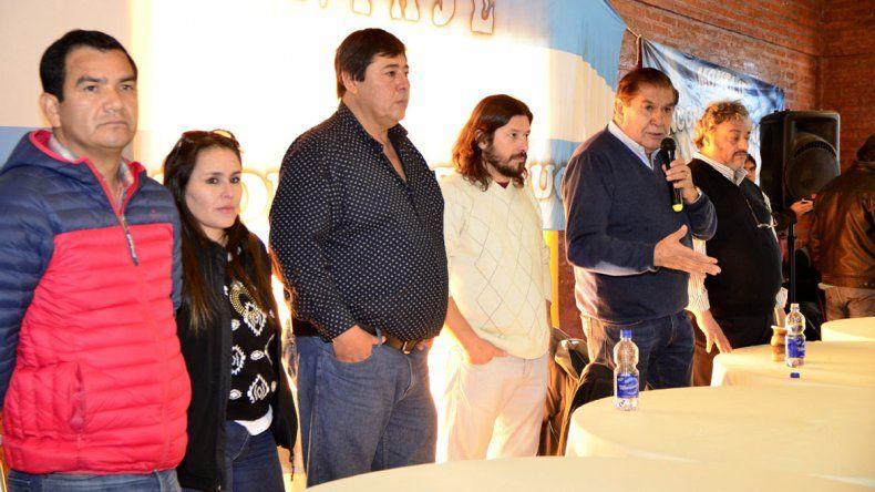 Pereyra llevó tranquilidad a los petroleros de Rincón