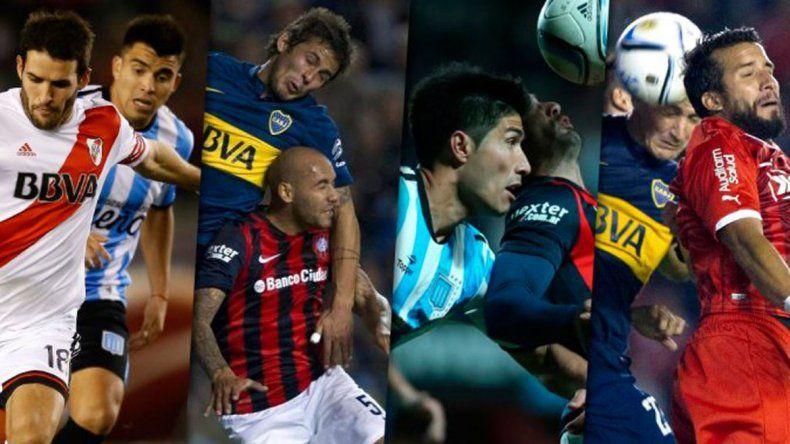 Así será la primera fecha del fútbol argentino