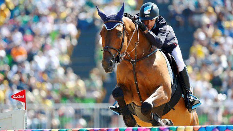 Matías Albarracín buscará una medalla en la final de equitación