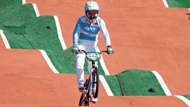 Los argentinos del BMX no pudieron llegar a la final