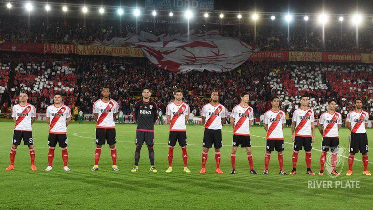 Moreira y Mina (los dos primeros a la izquierda) tuvieron un buen estreno.