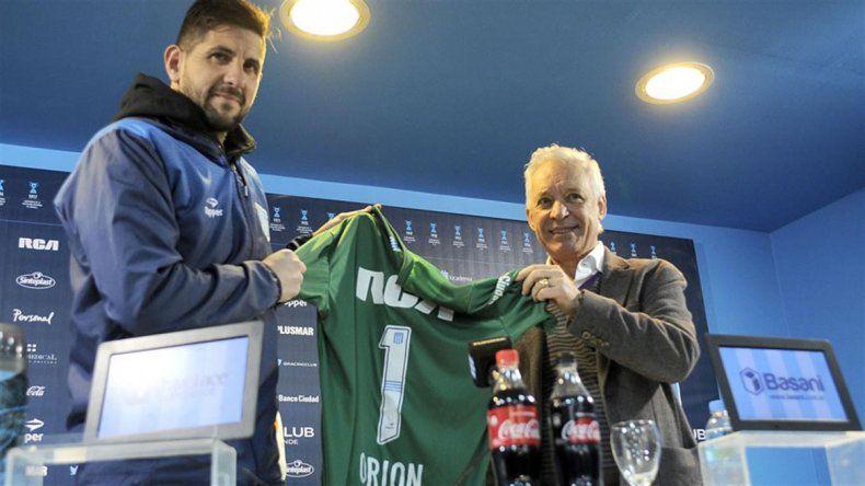 Orión heredará el 1 que Saja supo lucir. Es su tercer equipo grande.