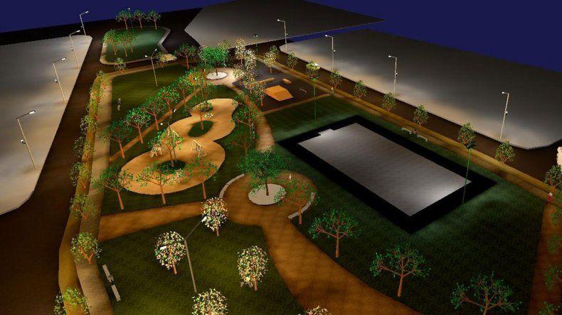 El Municipio se apresta a realizar el llamado a licitación para la construcción del Parque Lineal
