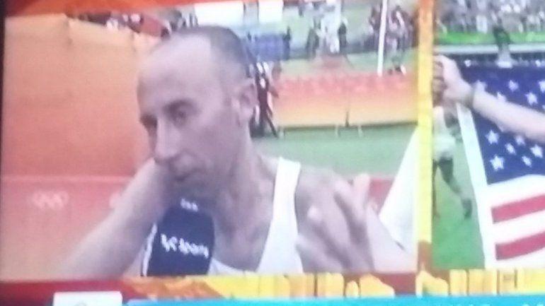 Mastromarino terminó en el puesto 53 en el maratón
