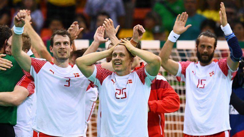 Dinamarca se quedó con el oro en el handball masculino