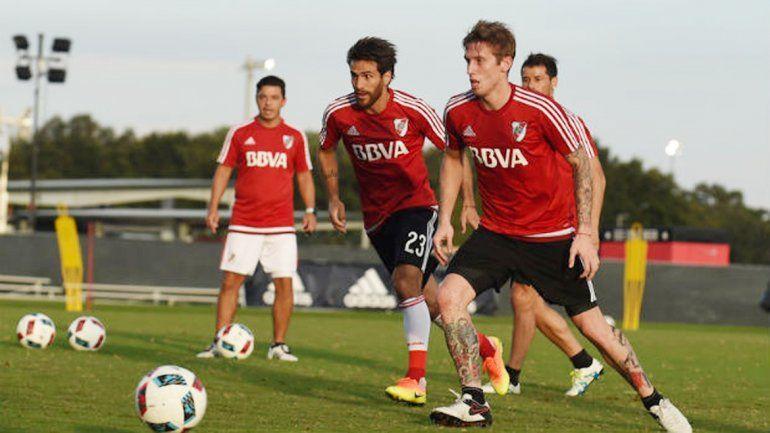 Rodrigo Mora está en duda para la revancha del jueves próximo.
