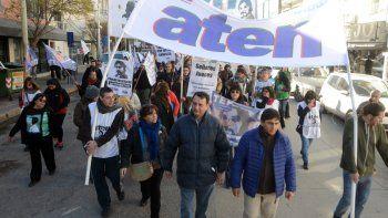 Docentes de ATEN paran hoy y se movilizan por el centro