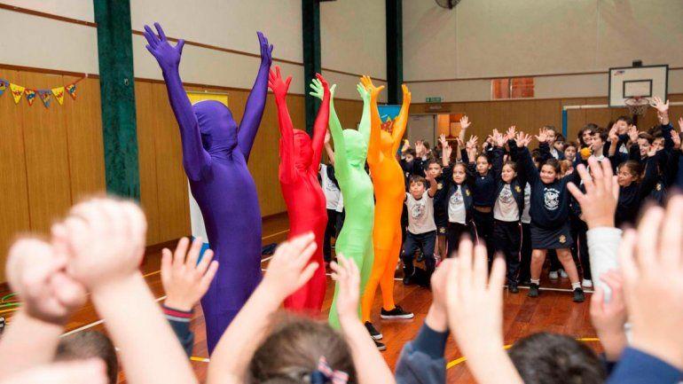 Aulas en Movimiento es un proyecto multidisciplinario en escuelas.