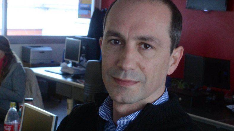El diputado provincial Santiago Nogueira.