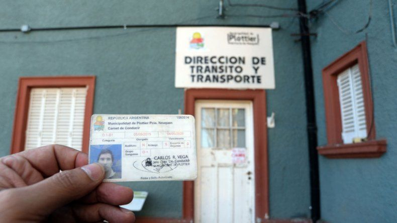 La licencias nacionales ya se emiten en Neuquén capital y Senillosa.