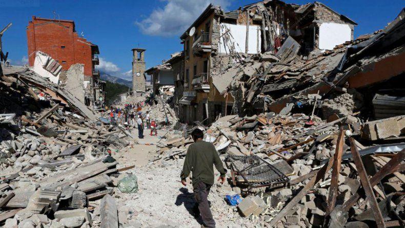 El terremoto de Italia hizo desaparecer a un pueblo