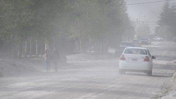 alerta por vientos de hasta 90 kilometros por hora en la region