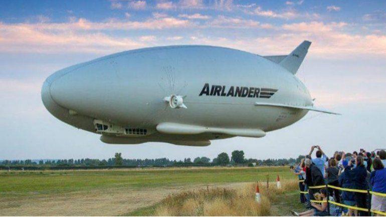 El avión más grande del mundose estrellóen su segundo vuelo