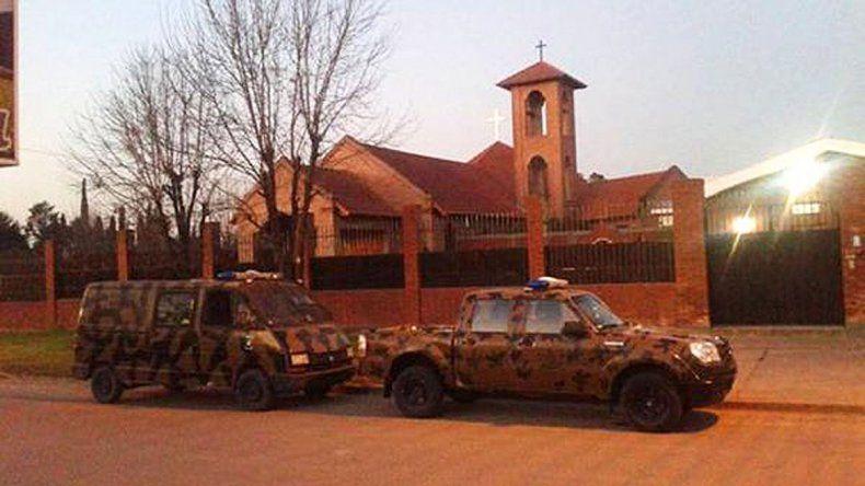 El convento de las Carmelitas Descalzas está a 100 km de Paraná.
