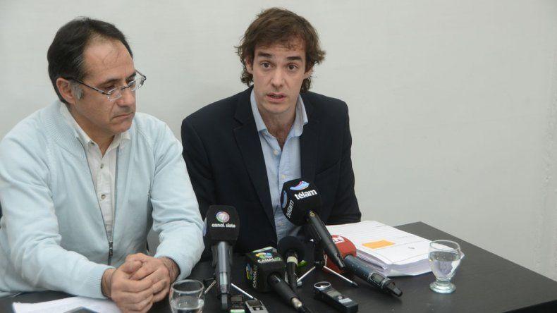 El diputado Leandro López y su par rionegrino