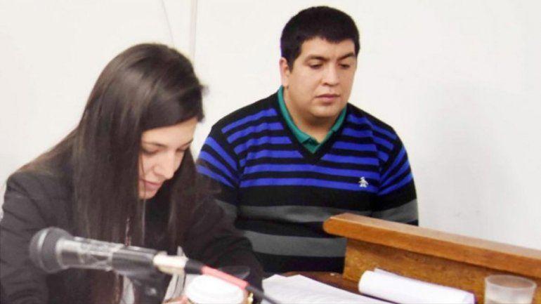 El Turco Montecino en una de las audiencias del juicio.