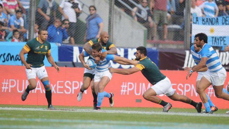 Los Pumas vencieron a Sudáfrica por la segunda fecha del Championship