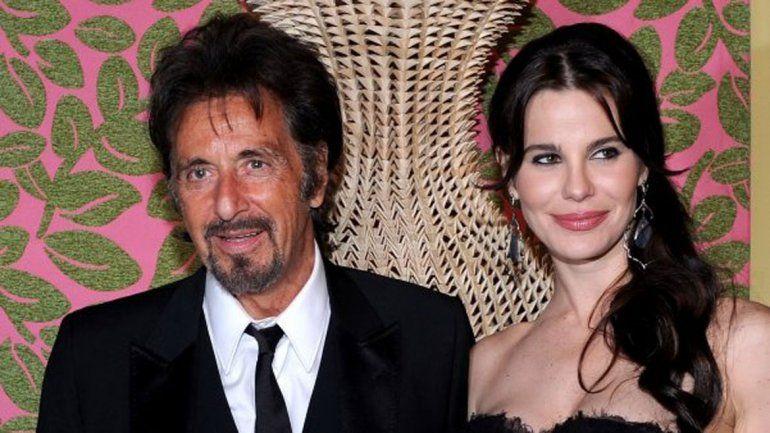 La modelo y actriz argentina Lucila Polak (32 años) vive con Al Pacino (74) en Los Ángeles.