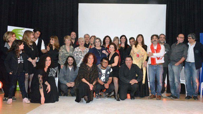 Los artistas y poetas que participaron en el homenaje a Federico García Lorca