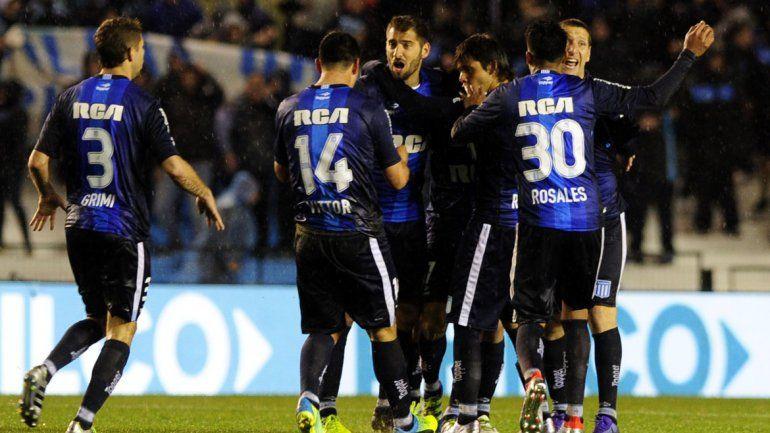 Racing y Talleres empataron 1 a 1.