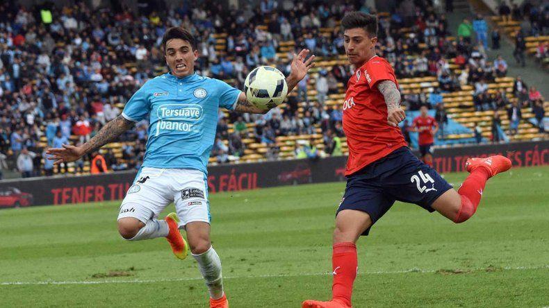 Independiente le ganó 1 a 0 a Belgrano.