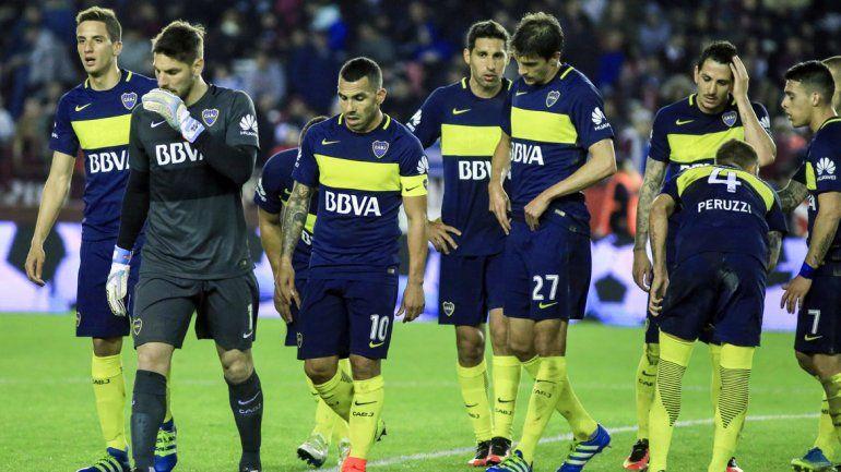 Boca no jugó bien y Lanús no lo perdonó.