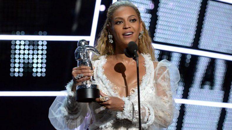 Beyonce fue premiada por el mejor videoclip del año