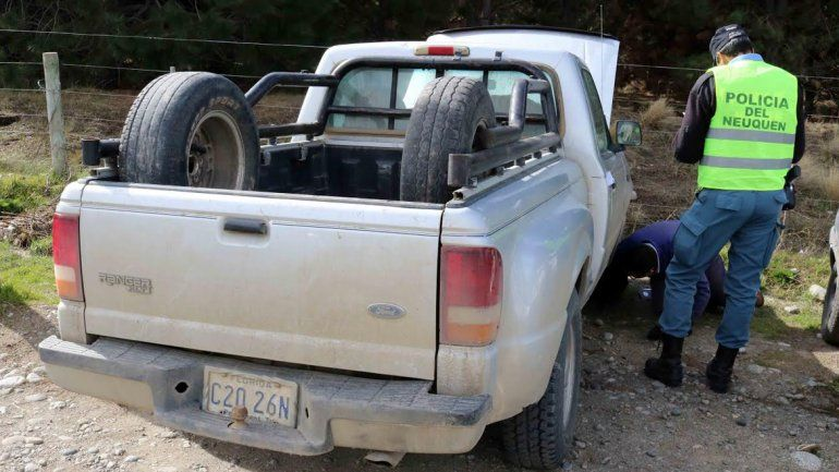 Una camioneta con patente de la Florida fue secuestrada en Junín de los Andes