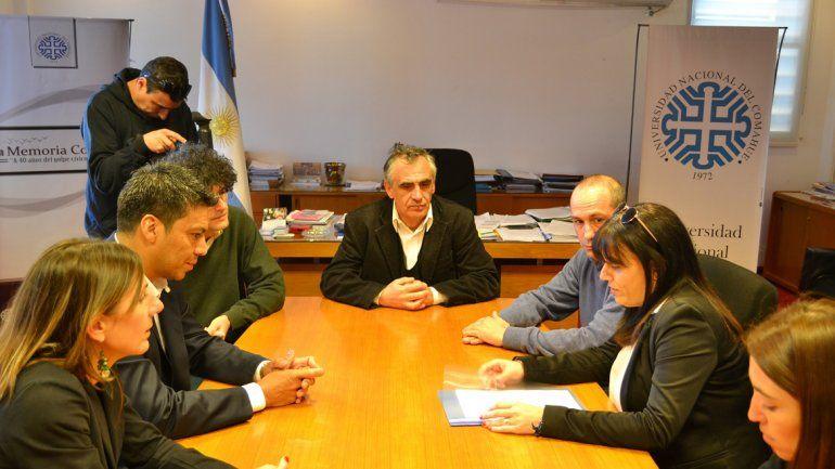Los dirigentes de Libres del Sur se reunieron con Crisafulli.