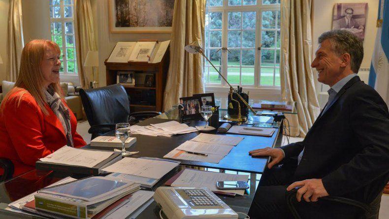 Macri recibió a Stolbizer por su libro sobre la corrupción