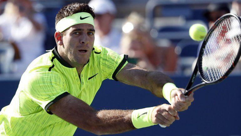 Del Potro regresó al US Open con un triunfo sobre el Peque Schwartzman