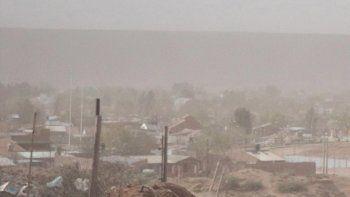 alerta por fuertes vientos en la zona norte de la cordillera