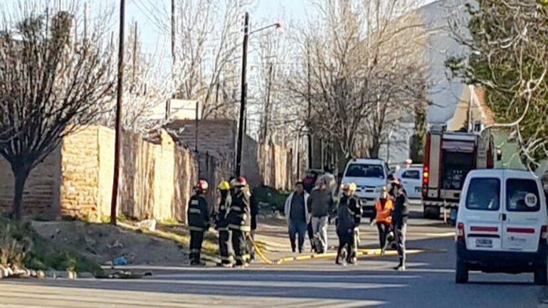 Evacuaron una escuela primaria por una pérdida de gas