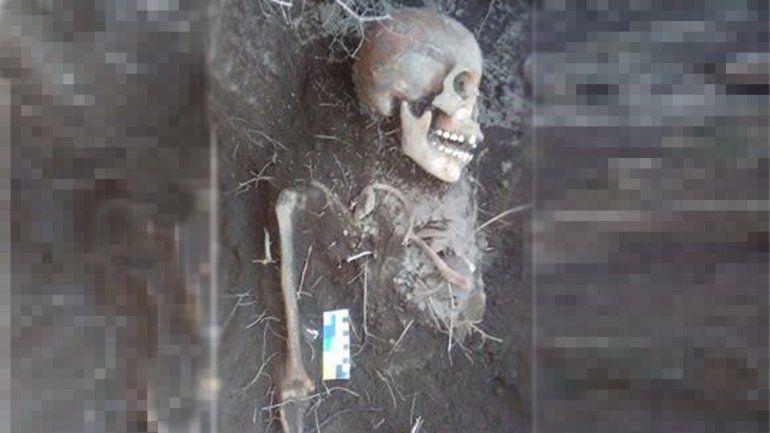 Hallaron huesos de una joven indígena de hace 540 años