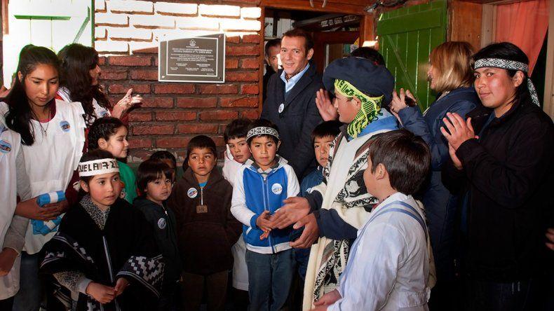 Con anuncios, Gutiérrez inauguró el ciclo lectivo septiembre- mayo