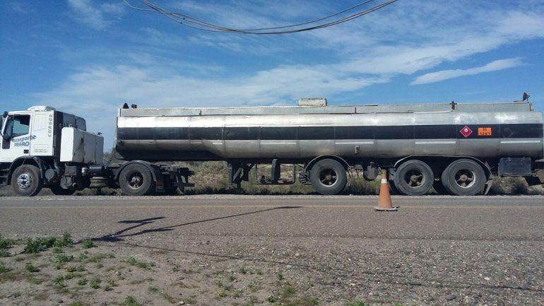 El camión intentaba cruzar de Río Negro a La Pampa