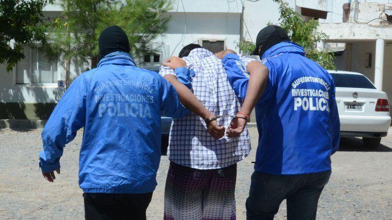 El grupo de Recaptura realizó el procedimiento de detención