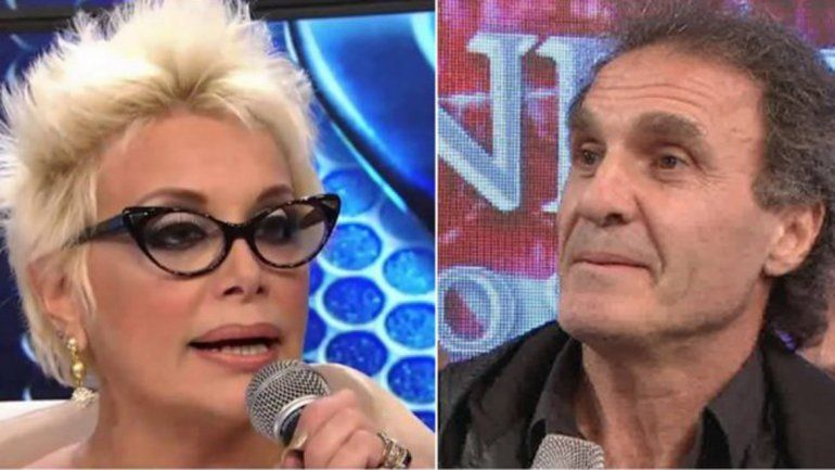 La pelea menos pensada: Carmen Barbieri se enojó con el Cabezón Ruggeri
