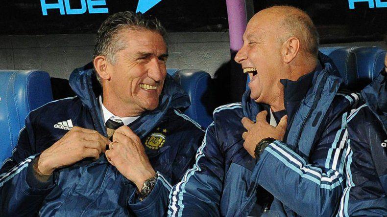 El técnico debutante está contento con arrancar con un triunfo.