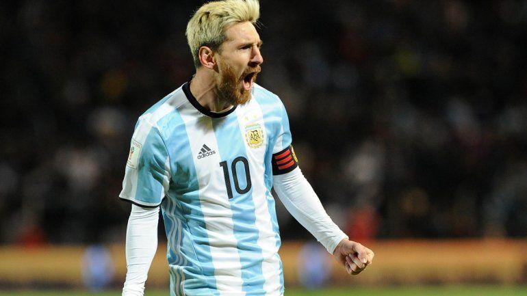 De la mano de Messi, la Selección Argentina le ganó a Uruguay