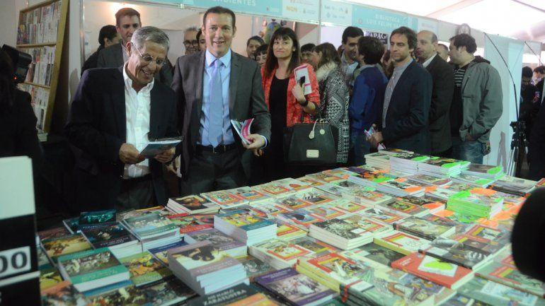 Quedó inaugurada la cuarta edición de la Feria Internacional del Libro en Neuquén
