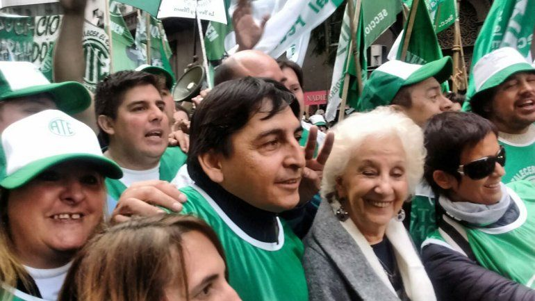 ATE y ATEN ya marchan en Buenos Aires contra el tarifazo