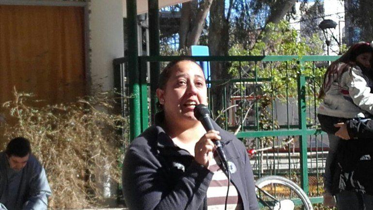 Jésica Arroyo se juntó con la Multisectorial y repudió el fallo judicial.