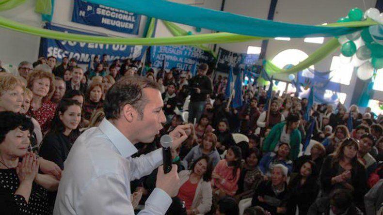 Gutiérrez llamó a los militantes del MPN a recuperar la intendencia de Neuquén