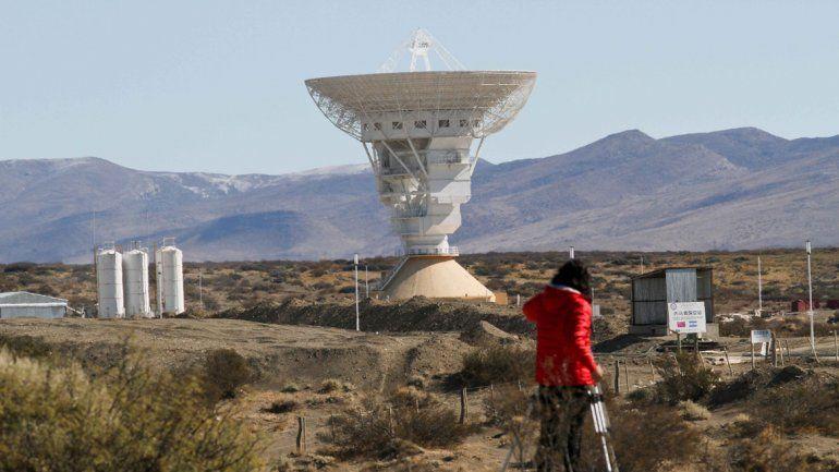 La base espacial china está a 355 kilómetros de la ciudad de Neuquén.